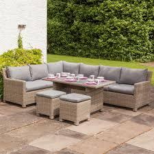 rattan corner sofa royalcraft wentworth rattan corner sofa dining set gardener