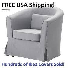 Blue And White Striped Slipcovers Ikea Ektorp Chair Slipcovers Ebay