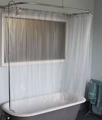 Small Shower Curtain Rod Bathroom White Shower Curtains With Curtain Rods And Cozy