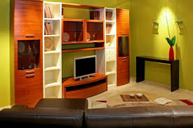 Green Bookcase Bookcase And Bookshelf Ideas For Living Rooms