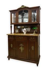 Wohnzimmerschrank Kaufen Ebay Buffet Schrank Küchenschrank Antik Jugendstil Um 1900 Eiche Massiv