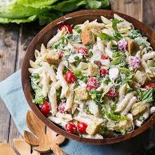 recipes for pasta salad chicken caesar pasta salad keeprecipes your universal recipe box