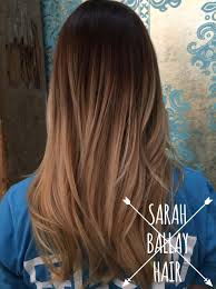 Dark Blonde To Light Blonde Ombre Gorgeous Ombre Dark Chocolate Brown Melting Into A Mix Of Natural