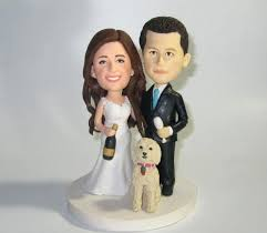 cake topper with dog wedding cake toppers with pets custom glitter topper a dog