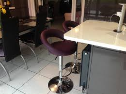 pair of sorrento purple bar stools kitchen bar stools