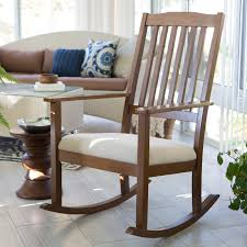 White Slat Rocking Chair by Belham Living Windsor Indoor Wood Rocking Chair U2013 Espresso Hayneedle