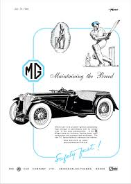 car advert mg tc 3 1946 ad auto pinterest cars british