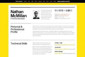 html resume template u2013 inssite