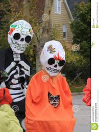 halloween costume mexican skeleton day of the dead parade editorial photo image 50154061