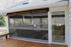 weather proof your patio or porch clear vinyl plastic enclosures