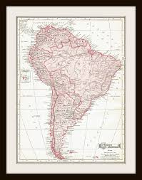 south america map buy 1911 antique map south america buy 3 get 1 free by