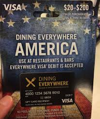 dining gift cards office depot sells 200 dining anywhere visa gift cards for