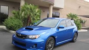 2011 Subaru Wrx Hatchback Wagon Rally Blue Very Clean Youtube