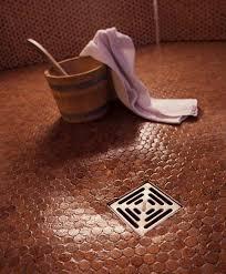 Bathroom Floor Pennies Tile For Floors Walls Bathroom Kitchen 1