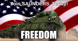 Girls Und Panzer Meme - saunders is freedom girls und panzer know your meme