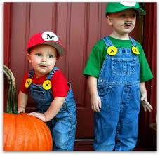 Super Mario Halloween Costume Adorable Homemade Mario Bros Halloween Costumes