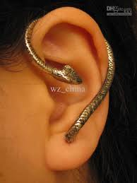 cartilage earrings 2018 brand new hot silver snake cartilage earrings wrap clip ear