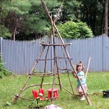 Backyard Teepee How To Build A Teepee 6 Steps