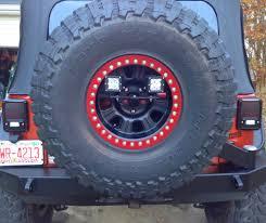 rigid industries backup light kit rigid industries back up light kit install jkowners com jeep