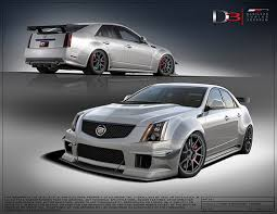 cadillac cts vs d3 competition widebody for cts v d3
