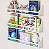 Nursery Wall Bookshelf Amazon Com Children U0027s Wall Shelf Wood Black 17 5 Inch Multi Use