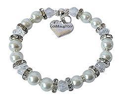 goddaughter charm bracelet goddaughter charm bracelet gift jewellery christening