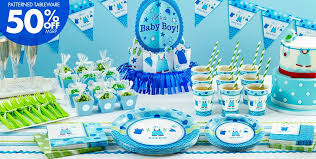 baby shower centerpieces boys it s a boy baby shower party supplies party city