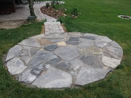 Diy Stone Patio Ideas Creative Building Stone Patio Decor Color Ideas Simple On Building