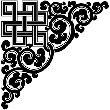 file tibetan endless knot corner ornament 01 svg wikimedia commons