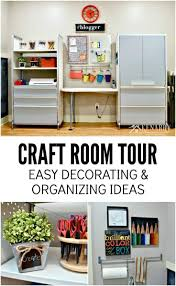 Craft Room Images by Craft Room Tour Decorating And Organizing Ideas