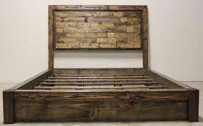 Platform Bed Frame With Headboard Platform Bed James James Furniture Springdale Arkansas