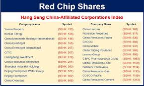 what are red chip shares definition and meaning market business