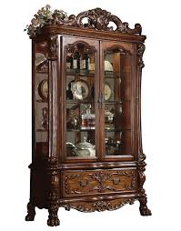 Kitchen Collectibles China Cabinet Cherry Wood China Cabinet Cabinets Curio Blues
