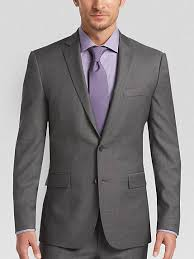 kenneth cole slim fit suit mens wearhouse