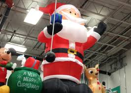 Blow Up Christmas Decorations At Lowes 14 foot santa a very atheist christmas