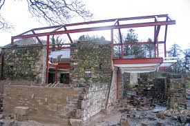 construction barn conversion in broughshane northern ireland 1