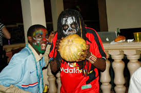 what does celebrating halloween in african cities signify this