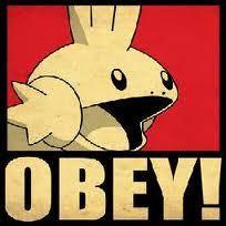 Obey Meme - obey mudkip znipertoast