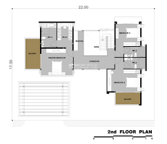 contemporary home floor plans amazing two storey contemporary home design architecture and art