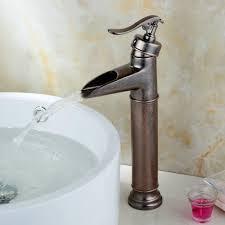 Antique Copper Kitchen Faucet Hienduretm Single Control Rustic Bronze Bathroom Vessel Faucet