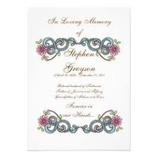 Funeral Service Invitation This Versatile Funeral Card Template Makes A Great Memorial