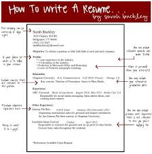 How To Write Up A Resume Uxhandy Com by Writing A Good Objective Howto Billybullock Us