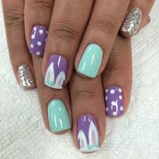 32 cute nail art designs for easter easter nail art easter