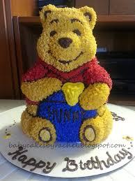 3d cake babycakesbyrachel pooh cake how to bake a 3d cake