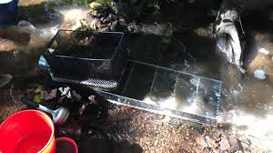 diy sluice box fine gold recovery under 30 home made youtube