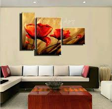 wall arts discount wall art 3 piece abstract modern canvas wall wall arts discount wall art 3 piece abstract modern canvas wall art cheap handmade red