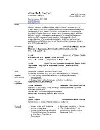 Free Chronological Resume Template Microsoft Word Does Word Have A Resume Template Resume Word Template Free Free