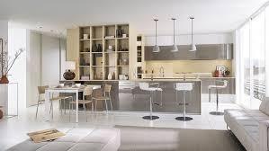 aménagement salon salle à manger cuisine amnagement cuisine ouverte sur salon modernit et luminosit dans ce