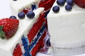 Dessert Flags Flag Cake Norsk Flaggkake 17 E Mai Kake Flaggtårta Dellie