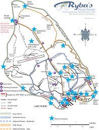 map of mackinac island island maps from ryba s bike shop on mackinac island michigan